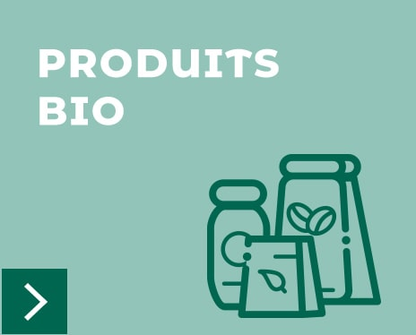 Bloc produits biologiques