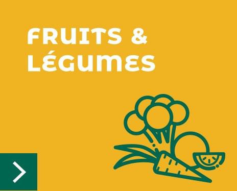 Bloc fruits et légumes